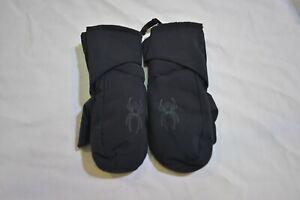 Spyder Kids Mini Cubby Mittens Black XL