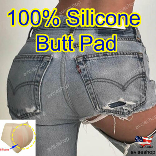 Big Butt Silicone Underwear Padded Panty Girdle Panty Butt Pads Tummy Control