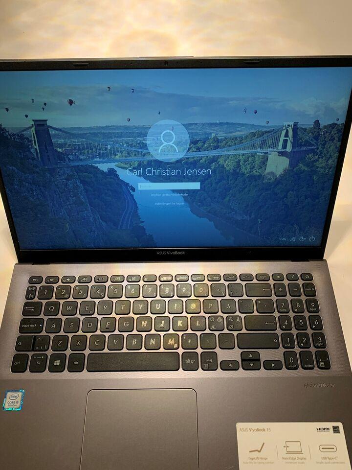 Asus VivoBook X512FA, i5-8265U CPU @ 1.60 GHz, 8 GB ram