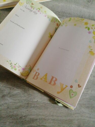 Perfect Gift New Baby Record Book// Pregnancy Book// Keepsake//Journal