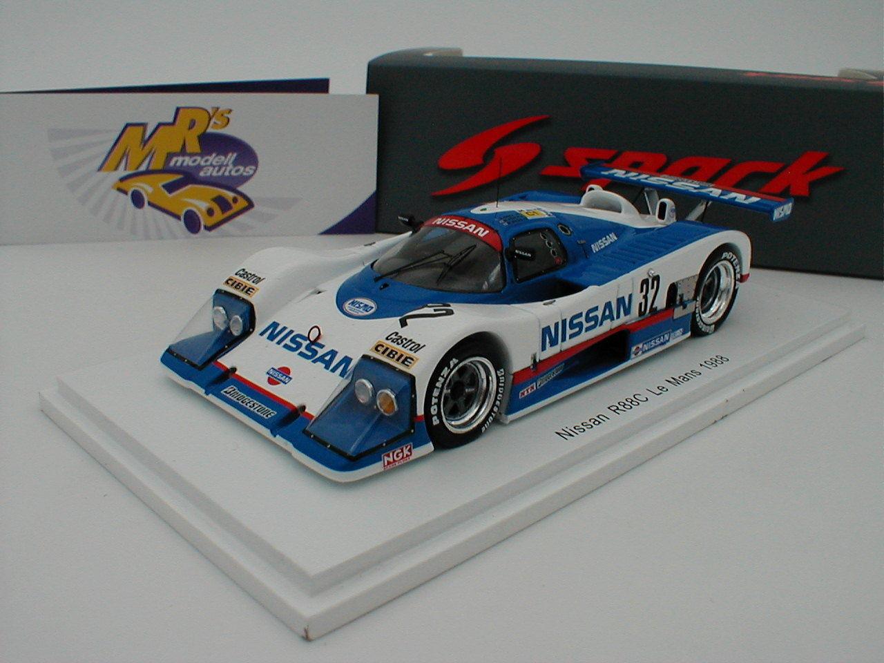 SPARK s5081-Nissan r88c Nº 32 24 H le mans 1988  Grice Wilds  1 43 NEUF