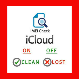 Details about Fastest Icloud Imei Check Lost Stolen Find My iPhone  Blacklist Checker FMI