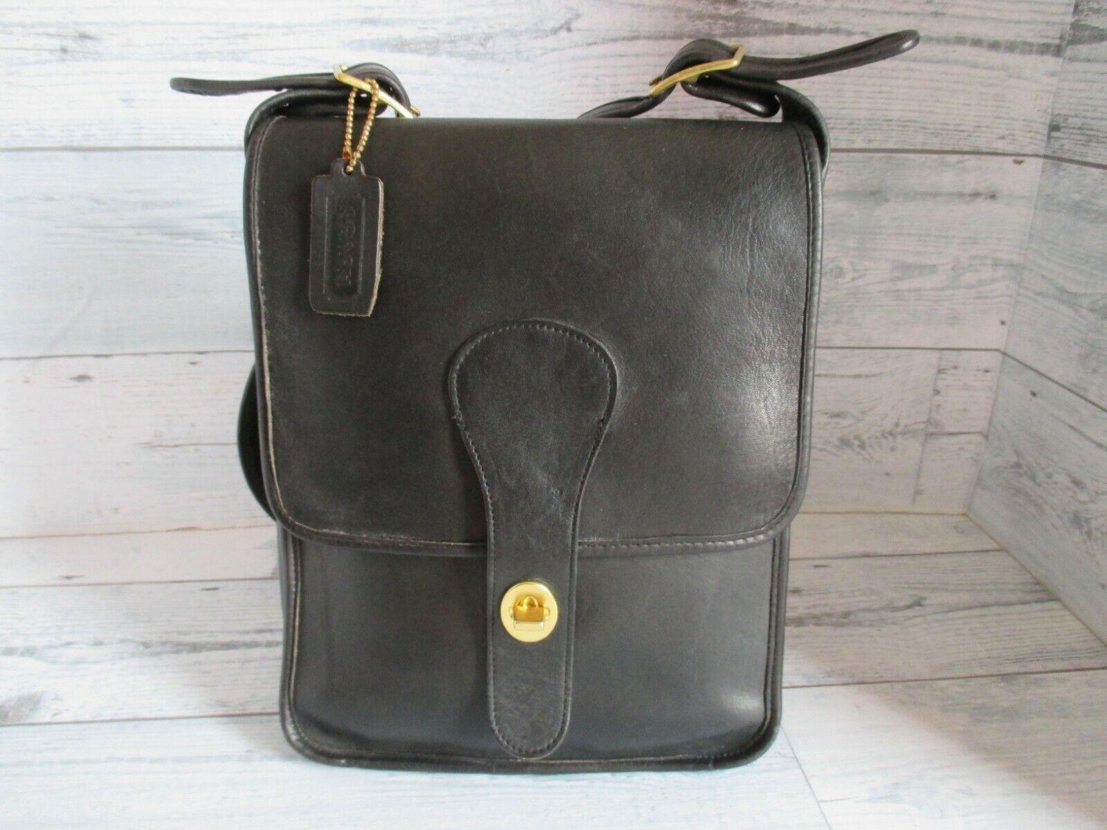 Vintage Coach Bonnie Cashin Black Leather Pre-Cre… - image 9