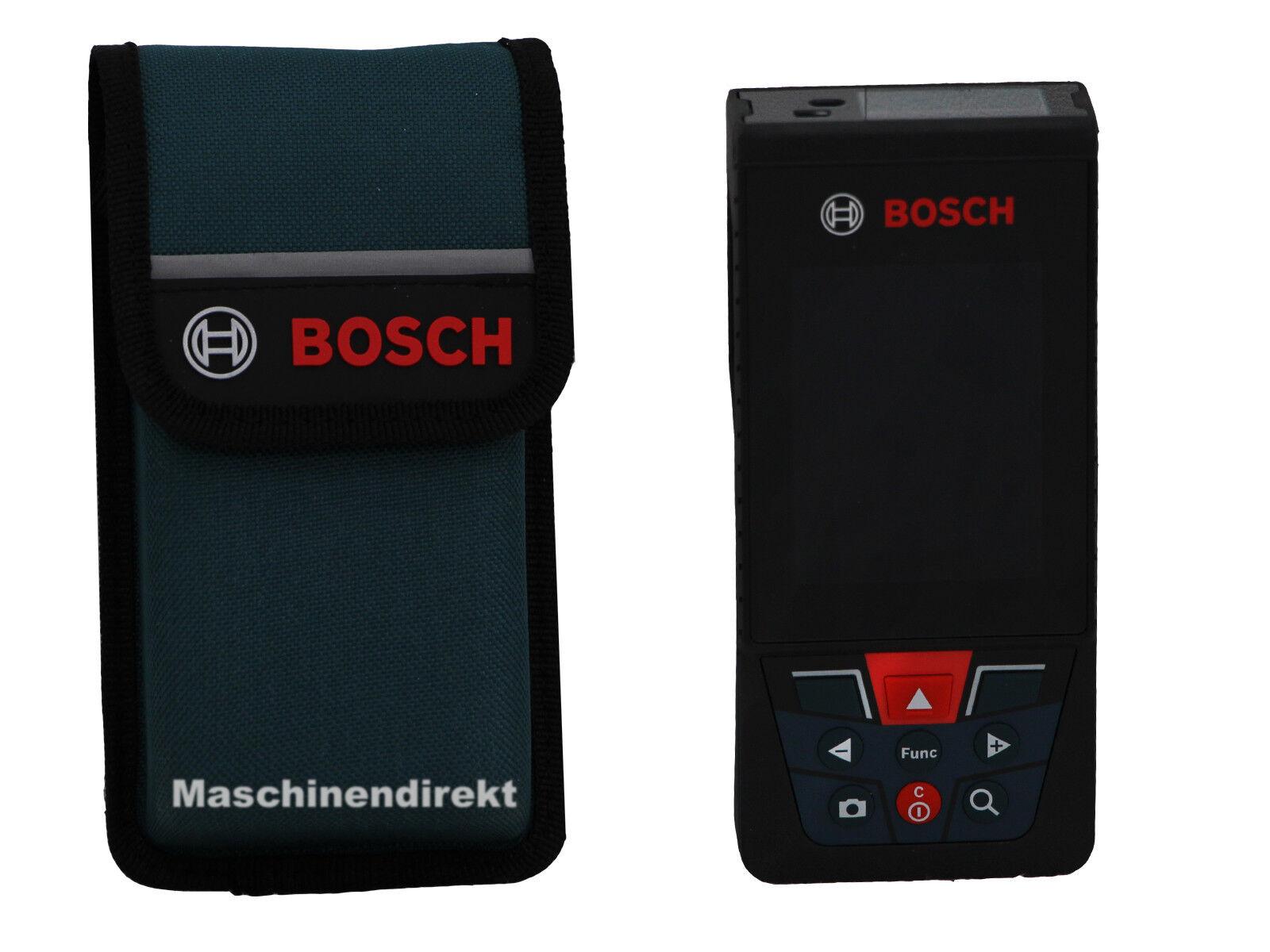 Bosch GLM 120 C Laser Entfernungsmesser GLM120C + Tasche  Akkubetrieben Li-Ion