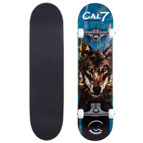 Cal 7 Rogue Complete 8 Inch Popsicle Skateboard 5.25 Trucks 100A Wheels Deck