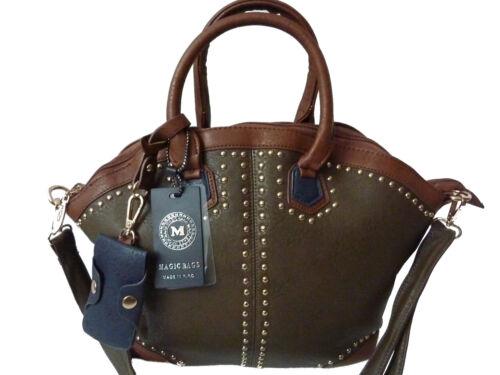 Shopper Rivets main transport à Sac Sac pour à Bag femme bandoulière Uni Sac de 5qPS7IwW