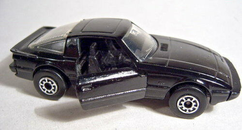 Matchbox Superfast 76A Mazda RX 7 Pre-pro Made in England komplett schwarz