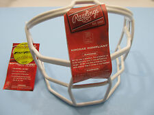 Rawlings Batter's Helmet Face Guard Softball Use Only Fast Pitch SBRWG White NEW