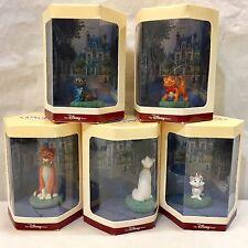 Disney Tiny Kingdom ARISTOCATS Lot 5 Figures NIB Duchess O'Malley Marie etc ALL