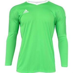 86855d757 Adidas Revigo 17 Youth Goalkeeper Soccer Jersey Shirt Green * Med 11 ...