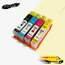 4PK Ink Cartridge For HP 364XL 364 XL Use in Photosmart 5510 5520 5524 6510 6520