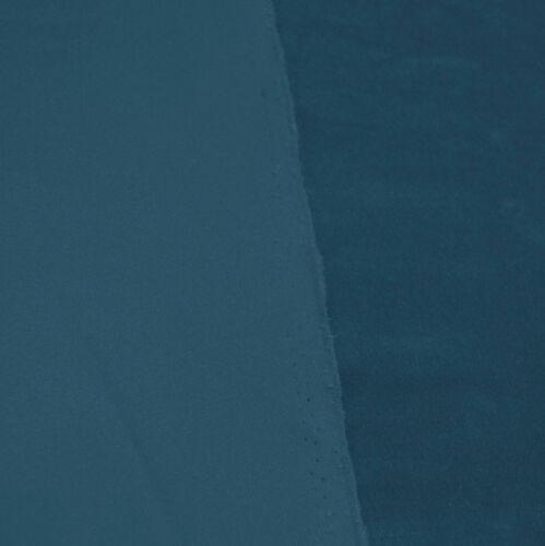 Mf24g Dusty Blue Soft Microfiber Velvet Bolster CASE Yoga Neck Roll COVER Size
