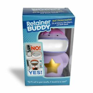 Retainer Buddy. Storage for Retainers, Aligners, Bleaching trays Box Mouthguards