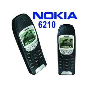 TELEFONO-CELLULARE-NOKIA-6210-NERO-BLACK-CANDY-BAR-GSM-2G-2000-USATO