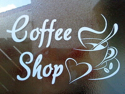 "small 7x6/""  bakery shop window signs doors vinyl graphics decals wall art cafe"