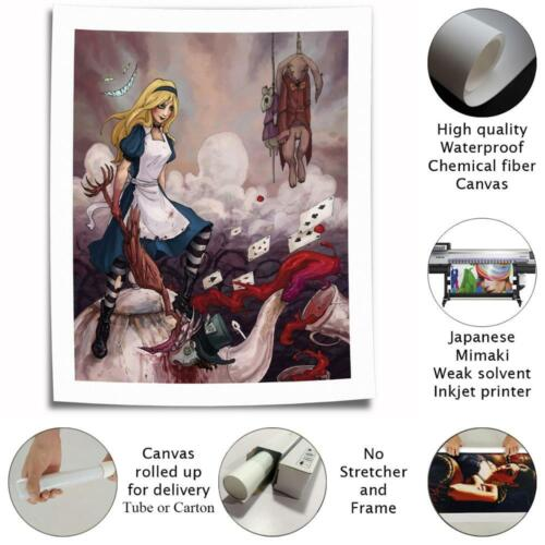 Princess Alice HD Canvas printed Home decor painting Wall art picture poster