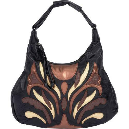 Embassy™ Italian Stone™ Design Genuine Lambskin Leather Purse