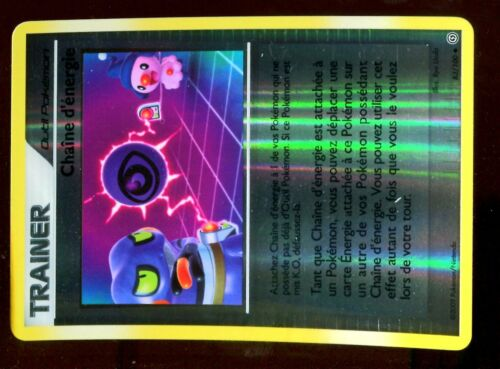 POKEMON TEMPETE HOLO INV N°  83//100 CHAINE D/' ENERGIE