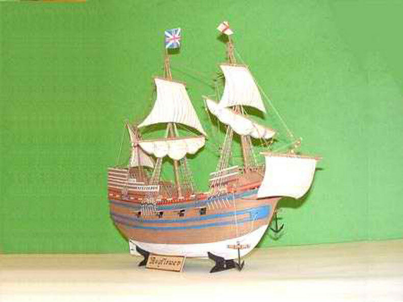 Buque británico Mayflower 1 72 Modelo Kit 01201 Trumpeter