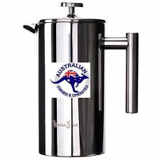 1000ml COFFEE PLUNGER FRENCH PRESS, ** $64.90 New stock mid June**