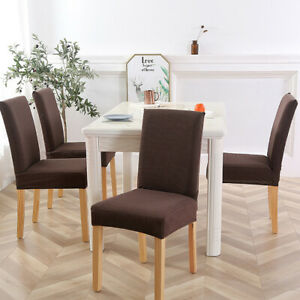 4-6PCS-Dining-Chair-Seat-Covers-Slipcover-Wedding-Banquet-Party-Stretchable