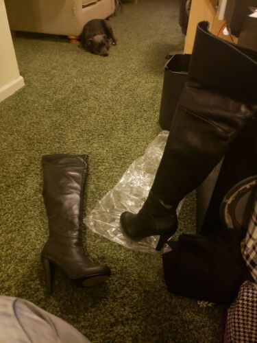 Colin Stuart Victoria Secret Thigh High Boots