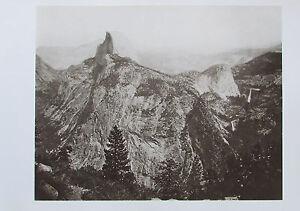 Muybridge-THE-HIGH-SIERRA-FROM-GLACIER-ROCK-1872-Druck-aus-der-70er-print