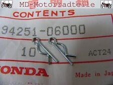 Honda CB 750 Four K0 K1 K2 Splinte Set für Haltebolzen Sitzbank F - 14