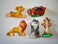 DISNEY THE LION KING LARGE FIGURINES SET ITALY - FIGURES COLLECTIBLES MINIATURES