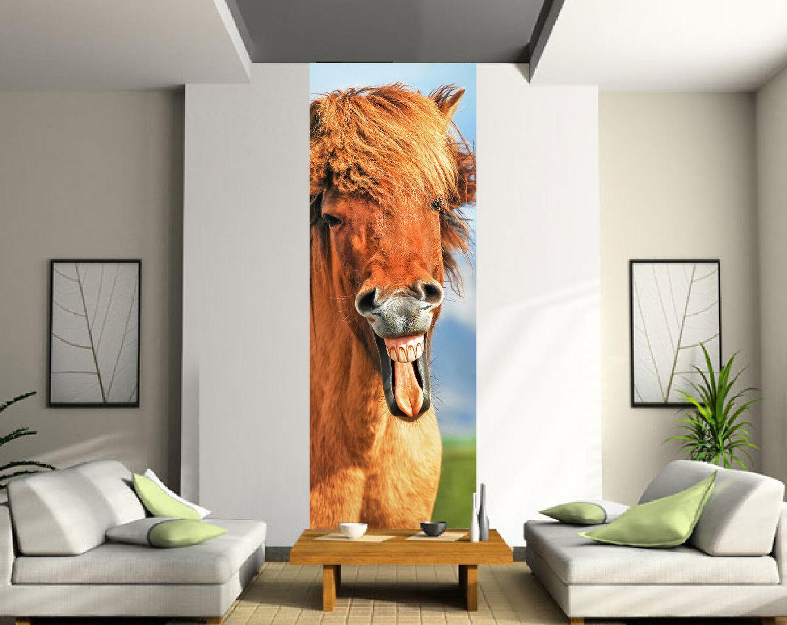 Aufkleber die Einzig Wanddekor Pferd Ref 2027