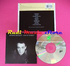 CD ANDREW RIDGELEY Son of albert 1990 EPIC NO lp mc dvd vhs GEORGE MICHAEL WHAM