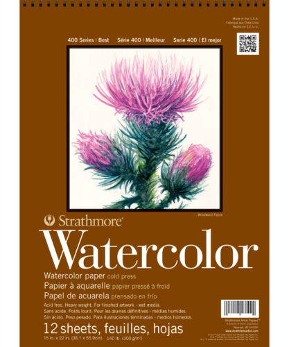 Strathmore 400 Watercolor Pad 15X22