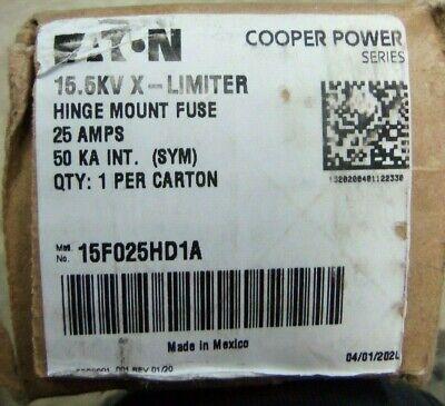 EATON COOPER POWER 23F010HD2A 23KV 10 Amps 50 KA Limiter Hinge mount Fuse NEW