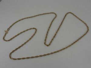9ct-YELLOW-GOLD-PRICE-OF-WALES-LINK-NECK-CHAIN-POW-NECKLACE-26-034-HALLMARKED