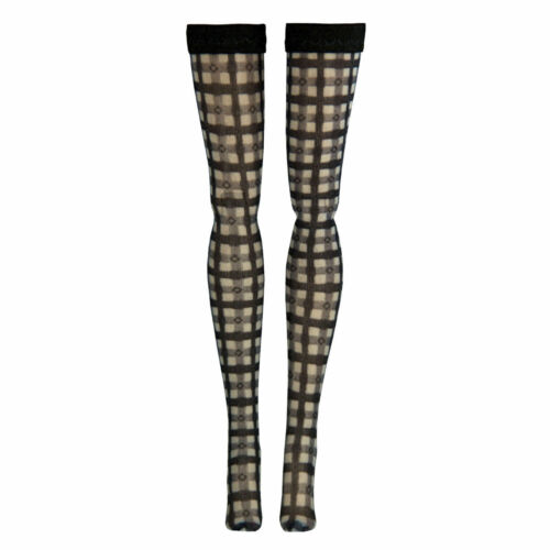 Jem Check Doll Stockings for Integrity Toys Fashion Royalty Poppy Parker