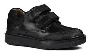 Boys J cuero Geox Opiniones de Calzado Riddock negro 100 F escolar positivo pxfX8WqSHw