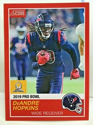 buy online 5648a 8c62c DeAndre Hopkins 2018 Panini Instant #7 NFL 2019 Pro Bowl 89 ...