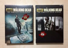 The Walking Dead Complete Seasons 5, 6 (DVD, 10 Disc Combo) New.
