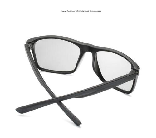 Photochromic Polarized Sunglasses Men/'s UV400 Driving Transition Lens Glasses