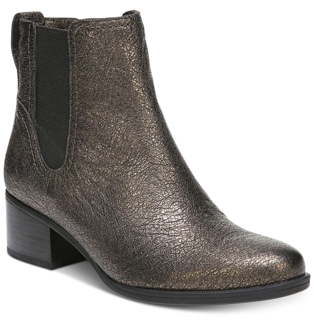 Nuevo Naturalizer Dallas Chelsea Tirar-en Tirar-en Tirar-en el tobillo bota de cuero US 7.5 Bronce Metálico  garantizado
