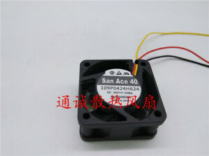 San Ace 40 109P0424H7D27 24V 0.08A CNC machine inverter fan