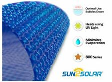 Sun2Solar Round, Oval, Rectangle Swimming Pool Solar Blanket Cover - 800 Series