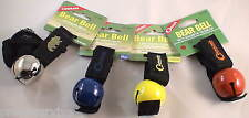 4 PK BEAR BELL 4 COLOR-INCLUDE SILENCER REPELS MANY UNWANTED PREDITORS KEEP SAFE