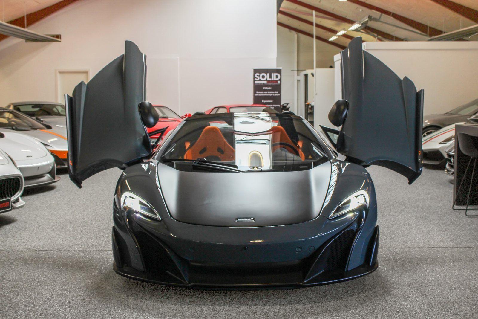 McLaren 675LT 3,8 Spider 2d