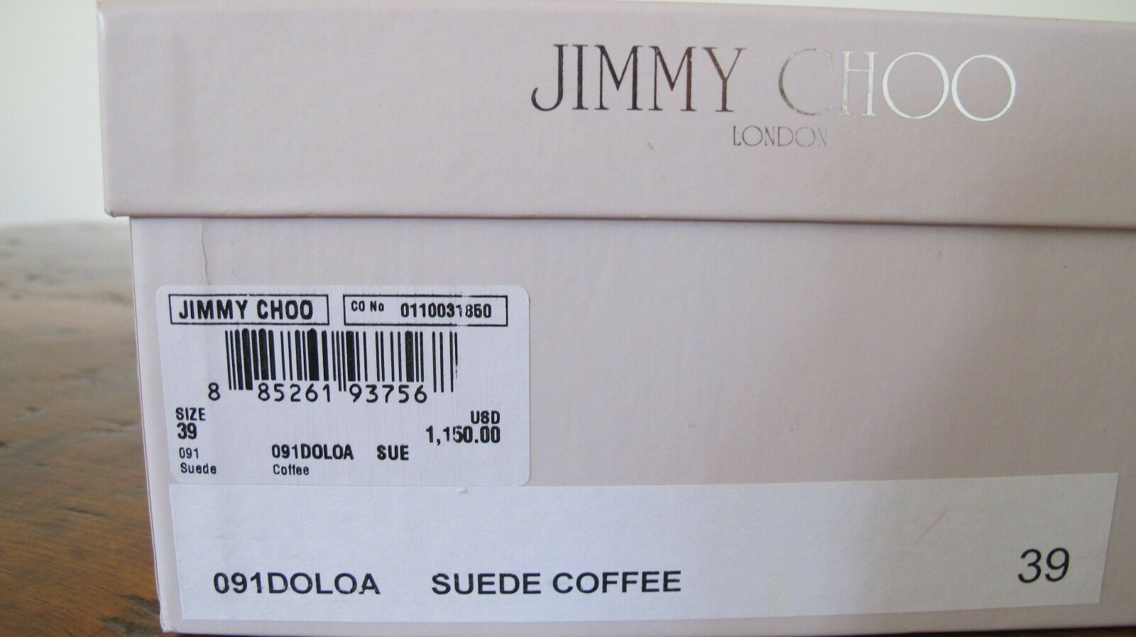 JIMMY CHOO SUEDE BEADED SHELL EMBELLISHED BROWN SUEDE CHOO GLADIATOR DOLOA SANDAL 39 9 e5fc34