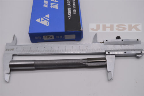 reamer 12D4 straight shank reaming Φ12 reamer HSS  12mm D4  Machine