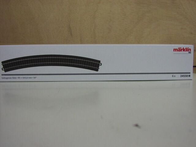 Märklin H0 10 x 24224 gebogenes Gleise R2 1St.=1,99€ Neuware