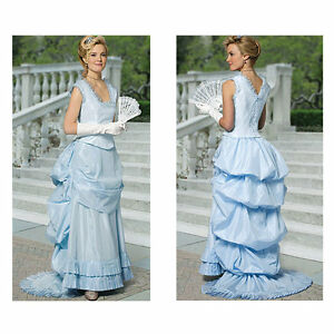 Ladies-Old-West-Bustle-style-skirt-and-bodice-sewing-pattern-uncut-5696