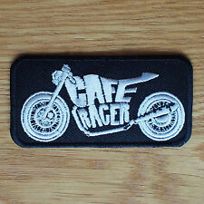 Motorcycle Biker Rocker Greaser Cloth Patch Leathers Vest Cut Off CAFE RACER