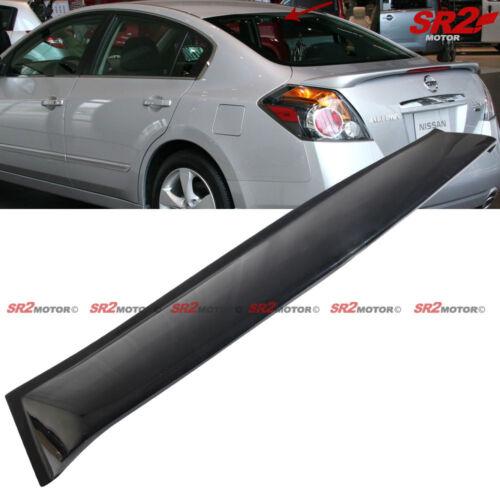 Rear Roof Spoiler Window Visor Shade Guard Wing for 07-09 Nissan Altima Sedan